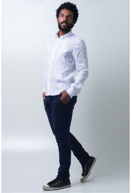 Camisa-casual-masculina-slim-cambraia-de-linho-branco-f01917s-detalhe2