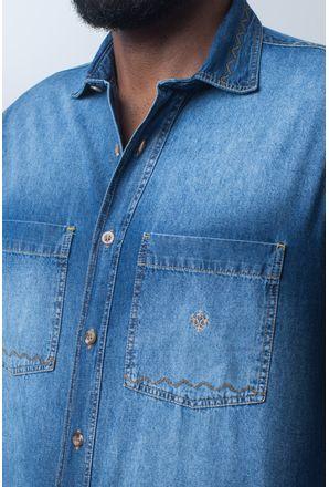 Camisa-casual-masculina-tradicional-jeans-azul-f01818a172-detalhe1