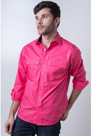 Camisa-casual-masculina-tradicional-algod-o-fio-50-pink-f01948a-frente