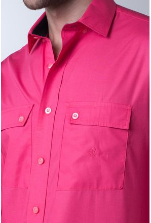 Camisa-casual-masculina-tradicional-algod-o-fio-50-pink-f01948a-detalhe1