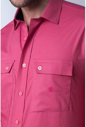 Camisa-casual-masculina-tradicional-algod-o-fio-50-rosa-f01948a-detalhe1