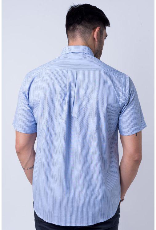 Camisa-casual-masculina-tradicional-algod-o-fio-50-azul-f01197a-frente