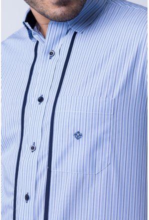 Camisa-casual-masculina-tradicional-algod-o-fio-50-azul-f01197a-detalhe1