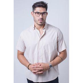 Camisa-b-sica-masculina-tradicional-algod-o-fio-40-bege-r09903a-frente