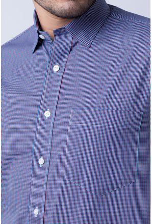 Camisa-casual-masculina-tradicional-algod-o-fio-50-vermelho-f04387a-detalhe1