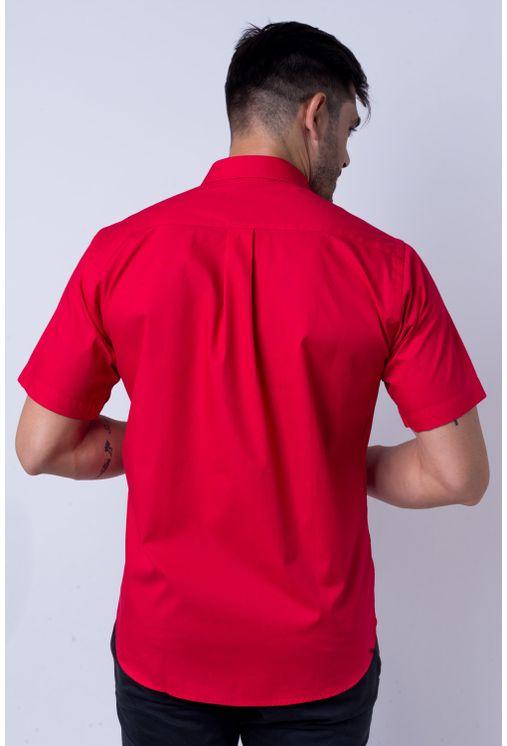 Camisa-b-sica-masculina-tradicional-algod-o-fio-40-vermelho-f09903a-verso