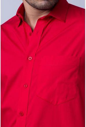 Camisa-b-sica-masculina-tradicional-algod-o-fio-40-vermelho-f09903a-detalhe1