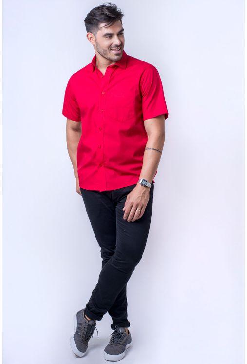 Camisa-b-sica-masculina-tradicional-algod-o-fio-40-vermelho-f09903a-detalhe2