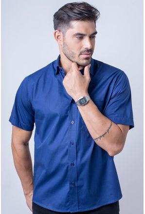 Camisa-b-sica-masculina-tradicional-algod-o-fio-40-azul-escuro-r09903a-frente