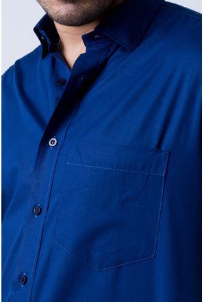 Camisa-b-sica-masculina-tradicional-algod-o-fio-40-azul-escuro-r09903a-detalhe1