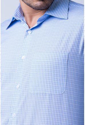 Camisa-casual-masculina-tradicional-algod-o-azul-claro-f05694a-detalhe1