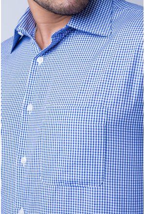 Camisa-casual-masculina-tradicional-algod-o-azul-escuro-f05698a-detalhe1