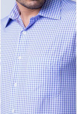 Camisa-casual-masculina-tradicional-algod-o-azul-escuro-f05695a-detalhe1