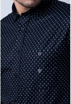 Camisa-casual-masculina-tradicional-algod-o-fio-40-preto-f01868a-detalhe1