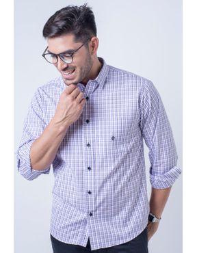 Camisaria Fascynios Oficial · KITS · Ponta de Estoque 3. Camisa casual  masculina tradicional algodão fio 50 lilás f01410a 01 ... 52b12df515614