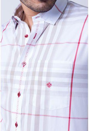 Camisa-casual-masculina-tradicional-algod-o-fio-50-bege-f01739a-detalhe1