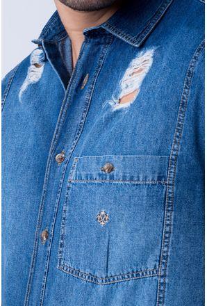 Camisa-casual-masculina-tradicional-jeans-azul-f01823a-detalhe1