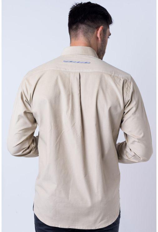 Camisa-casual-masculina-tradicional-veludo-bege-f01529a-verso