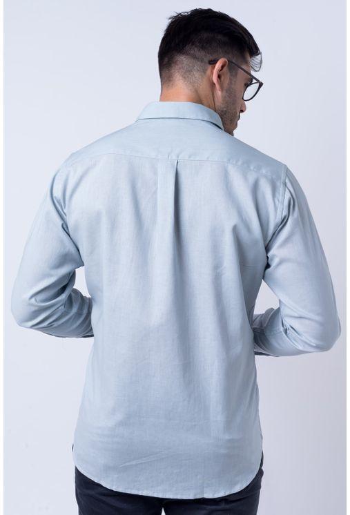 Camisa-casual-masculina-tradicional-linho-misto-cinza-f01293a-verso