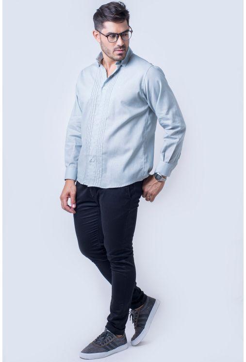 Camisa-casual-masculina-tradicional-linho-misto-cinza-f01293a-detalhe2