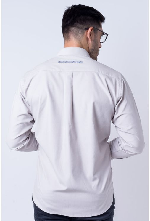 Camisa-casual-masculina-tradicional-veludo-cinza-f01529a-frente