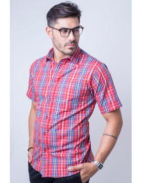 Camisaria Fascynios Oficial · KITS · Ponta de Estoque 2. Camisa casual  masculina tradicional algodão fio 50 vermelho f04337a 01 ... 9d395b8001b24