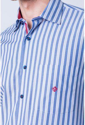 Camisa-casual-masculina-tradicional-algodao-fio-50-azul-medio-f01177a-3