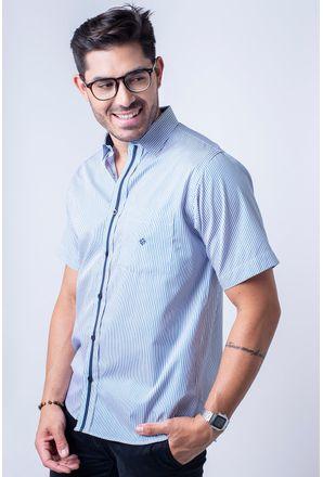 Camisa-casual-masculina-tradicional-algodao-fio-80-verde-f01280a-1