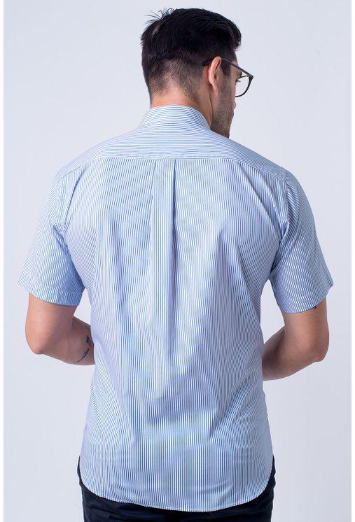 Camisa-casual-masculina-tradicional-algodao-fio-80-verde-f01280a-2