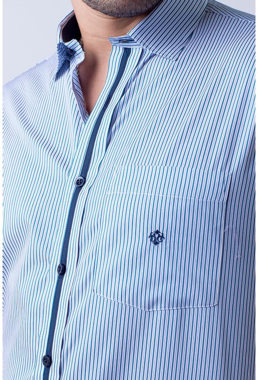 Camisa-casual-masculina-tradicional-algodao-fio-80-verde-f01280a-3