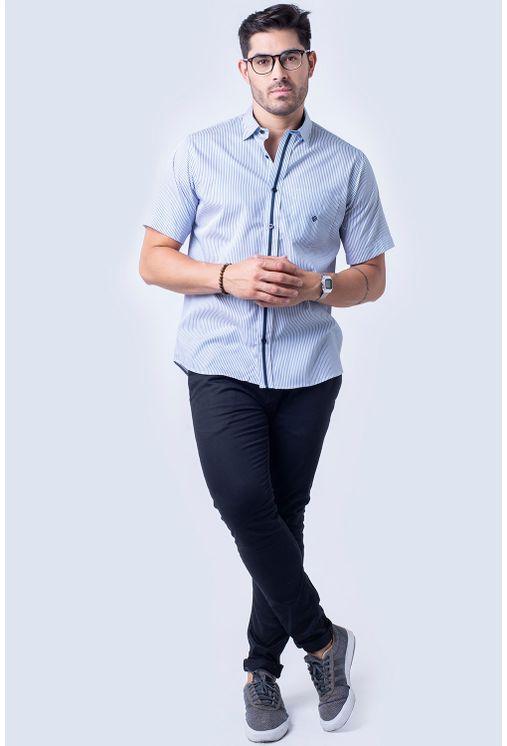 Camisa-casual-masculina-tradicional-algodao-fio-80-verde-f01280a-4