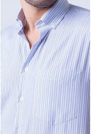 Camisa-casual-masculina-tradicional-algodao-misto-azul-f07463a-3