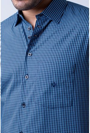Camisa-casual-masculina-tradicional-algodao-fio-50-azul-f01353a-3
