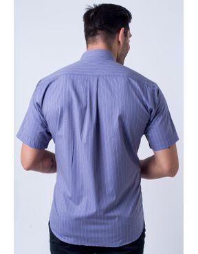 d5b771c827 ... Camisa casual masculina tradicional algodão fio 50 roxo f05196a 01 ...