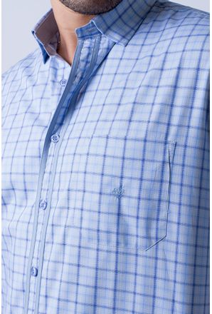 Camisa-casual-masculina-tradicional-algodao-fio-50-azul-f01412a-3