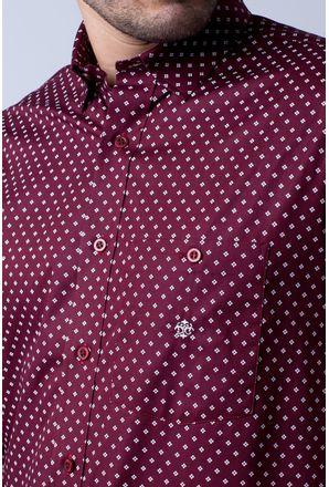 Camisa-casual-masculina-tradicional-algodao-fio-40-bordo-f01868a-3