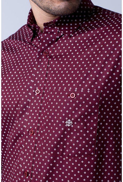 Camisa-casual-masculina-tradicional-algodao-fio-40-bordo-f01868a-1