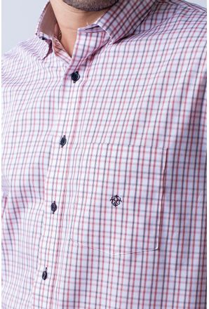 Camisa-casual-masculina-tradicional-algodao-fio-50-rosa-f01410a-3