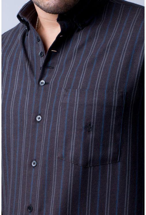Camisa-casual-masculina-tradicional-flanela-marrom-f01100a-3