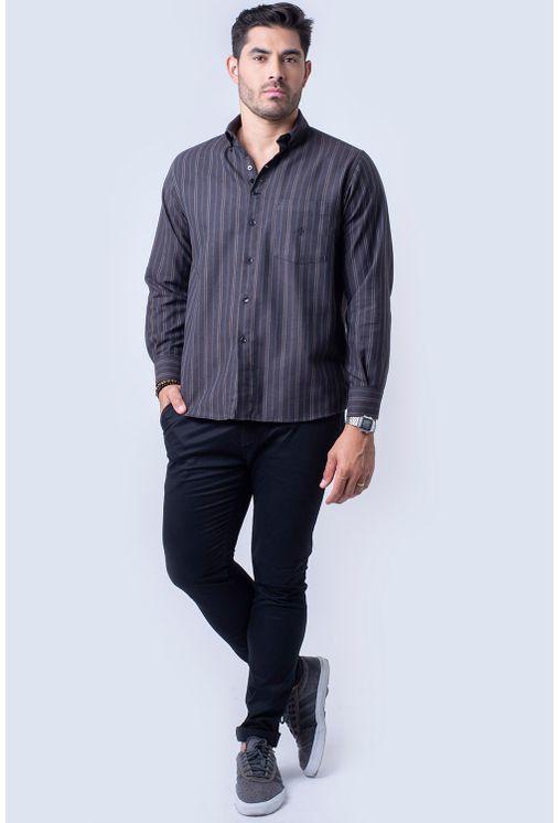 Camisa-casual-masculina-tradicional-flanela-marrom-f01100a-4