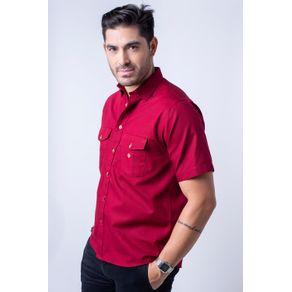 Camisa-casual-masculina-tradicional-sarjada-bordo-f01681a-1
