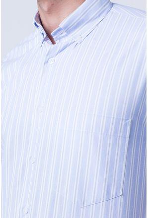 Camisa-casual-masculina-tradicional-algodao-misto-azul-claro-f07422a-3