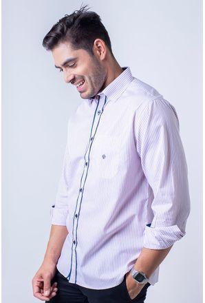 Camisa-casual-masculina-tradicional-algodao-fio-80-vermelho-f01101a-1
