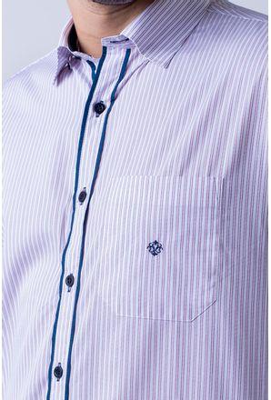 Camisa-casual-masculina-tradicional-algodao-fio-80-vermelho-f01101a-3