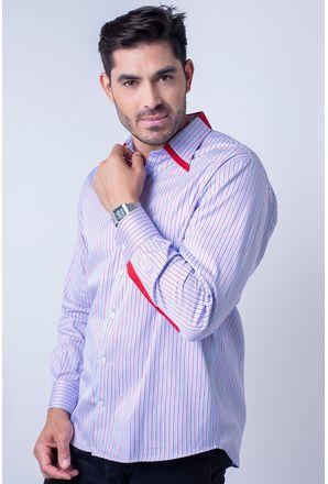 Camisa-casual-masculina-tradicional-algodao-fio-80-vermelho-f00541a-01-1