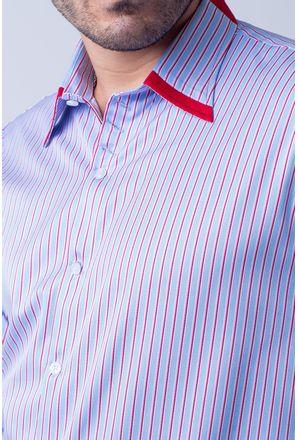 Camisa-casual-masculina-tradicional-algodao-fio-80-vermelho-f00541a-01-3