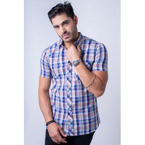 Camisa-casual-masculina-slim-algodao-fio-40-azul-f01357s-1
