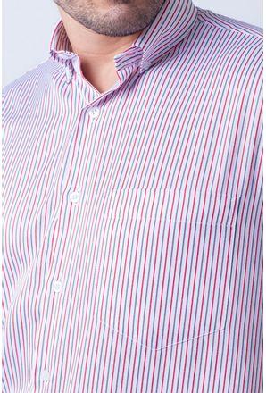 Camisa-casual-masculina-tradicional-algodao-misto-vermelho-f07463a-3