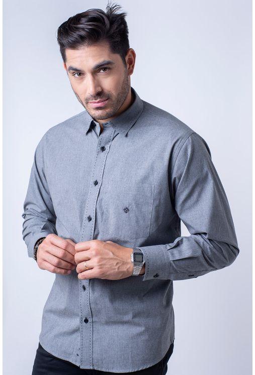 Camisa-casual-masculina-tradicional-flanela-cinza-f01677a-1