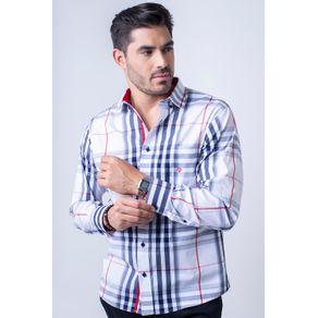Camisa-casual-masculina-tradicional-fio-50-azul-f01740a-1